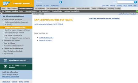 Configuracion SAP SNC: Librería SAPCRIPTOLY