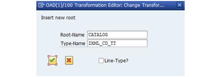 Procesamiento XML con ABAP: Referencia a tipo de tabla en la transformación