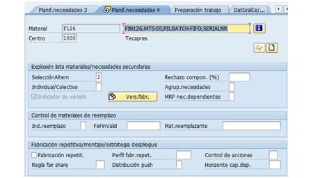 SAP PP: Crear versiones de fabricación desde maestro de materiales