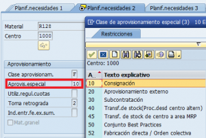 SAP MM, registro de materiales