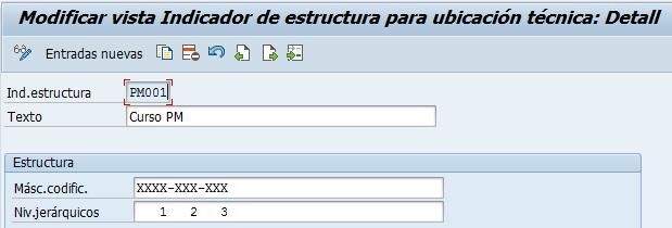 Las ubicaciones técnicas en SAP PM