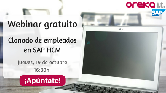 Webinar SAP HCM Clonación de empleados