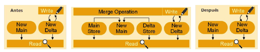 Proceso Delta Merge - SAP BW