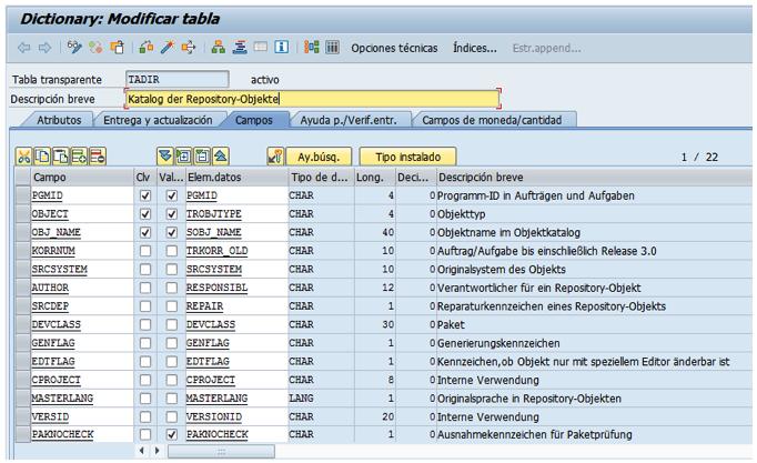 Habilitar la modificación del objeto estándar SAP S4/HANA