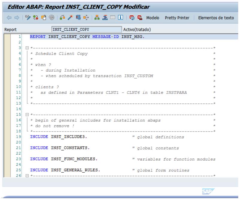 El report es completamente modificable y se puede grabar y activar sin introducir ningún tipo de clave de registro del objeto