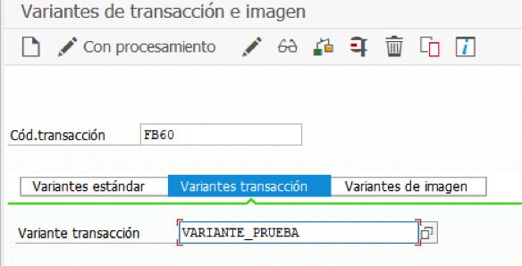 Variantes de transacción para modificar los campos por defecto SAP FI
