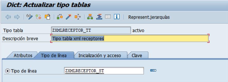 Actualizar tipo de tablas para transformaciones XML complejos a ABAP