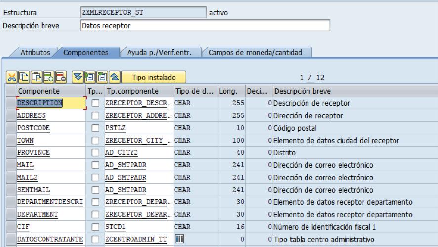 SAP: estructura XML a ABAP