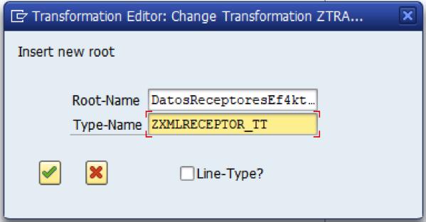 Estructura - root - SAP - XML