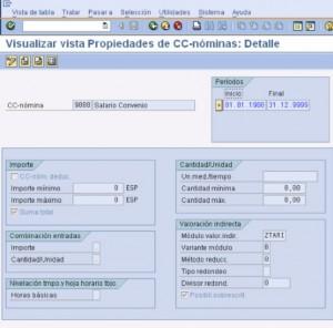 SAP PY: Creación y configuración de un concepto de nómina