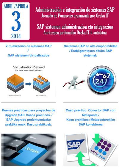Jornada de Ponencias - Administración e integración de sistemas SAP