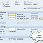 SAP HR infotipo 0003: Modificar los campos bloqueados