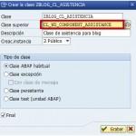 Clases de asistencia en Web Dynpro