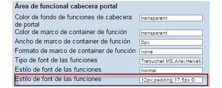 SAP Portal: limitaciones del Theme Editor