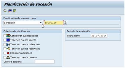 Planificación de la sucesión en SAP HCM