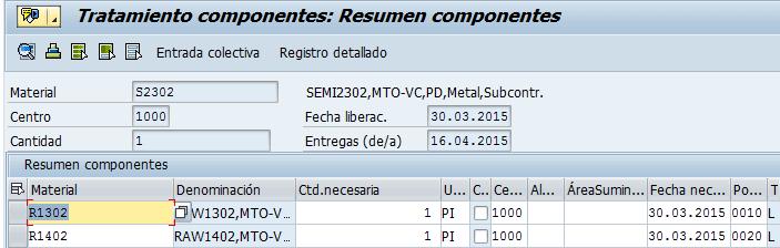 SAP MM, resumen de los componentes