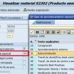 SAP MM: Subcontratación en compras (1 / 2)
