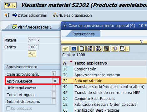 SAP MM: Transacción S2302 para el registro de materiales