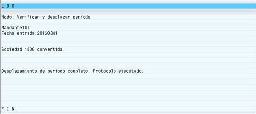 SAP MM, periodo activo