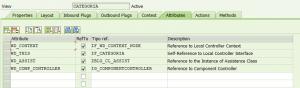 Web Dynpro for Abap, Categoría del controlador