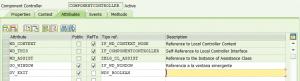 Web Dynpro for Abap, Componentes del contolador