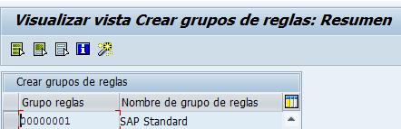SAP HCM, crear grupos de reglas