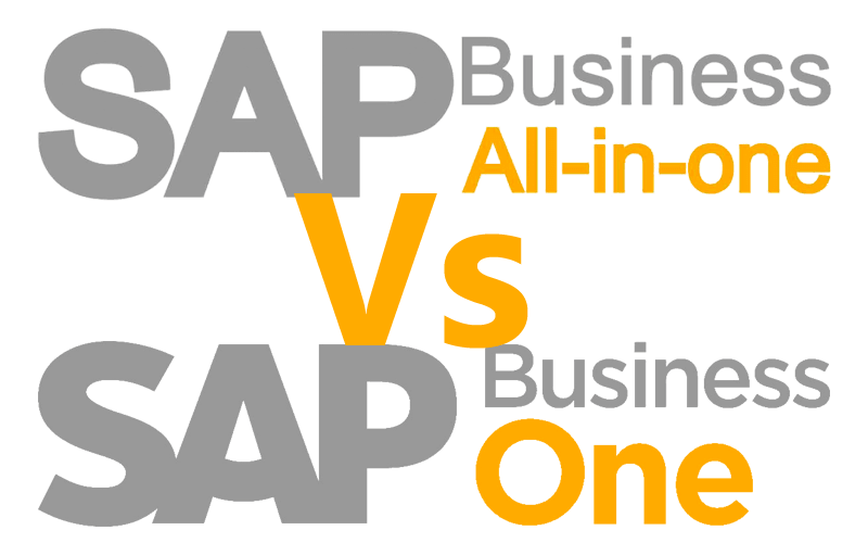 SAP Business all-in-one Vs SAP Business One