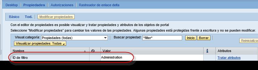 SAP Portal, Desktop A