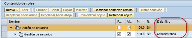 SAP Portal, Desktop A asignado