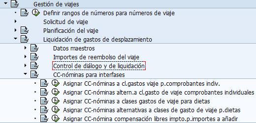 SAP clases de gastos, punto de parametrización