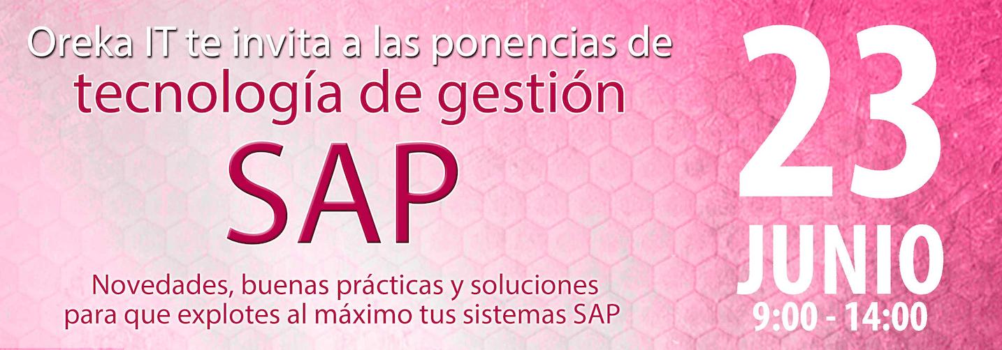 Ponencias sobre tecnología de gestión SAP