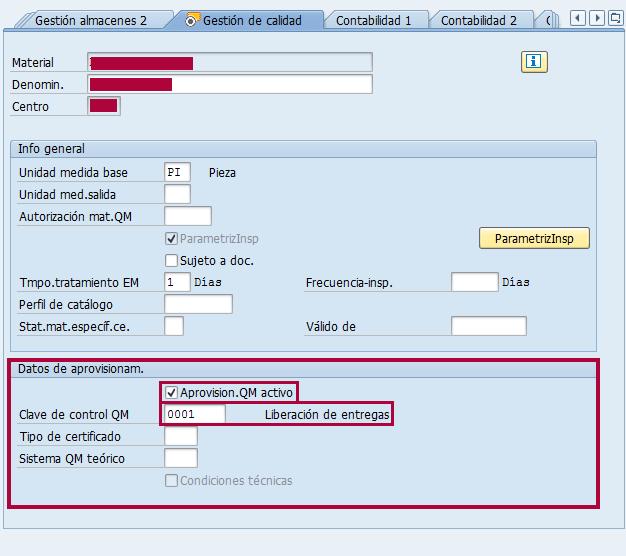 Módulo SAP QM, gestión de calidad