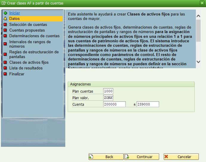 Sap Fi Cómo Crear Clases De Activos Automáticamente En Sap