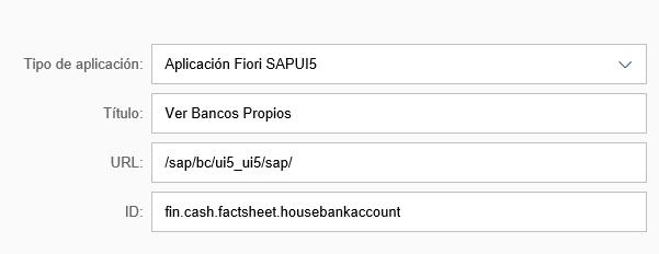Aplicación Fiori SAPUI5