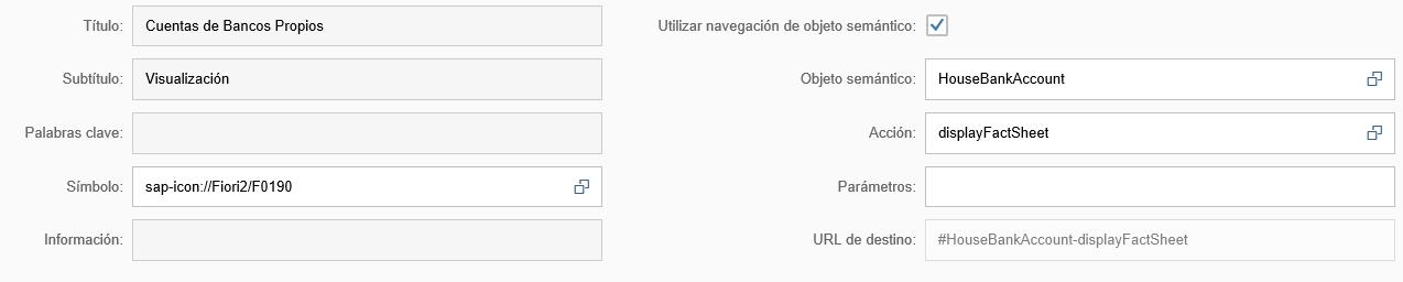 Configuración SAP Fiori Launchpad