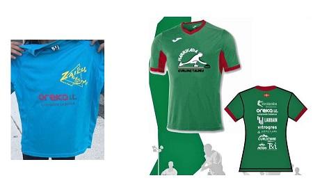 Oreka IT patrocina los clubes deportivos Zailu y Harrikada