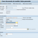 SAP PM: Documentos de medición SAP