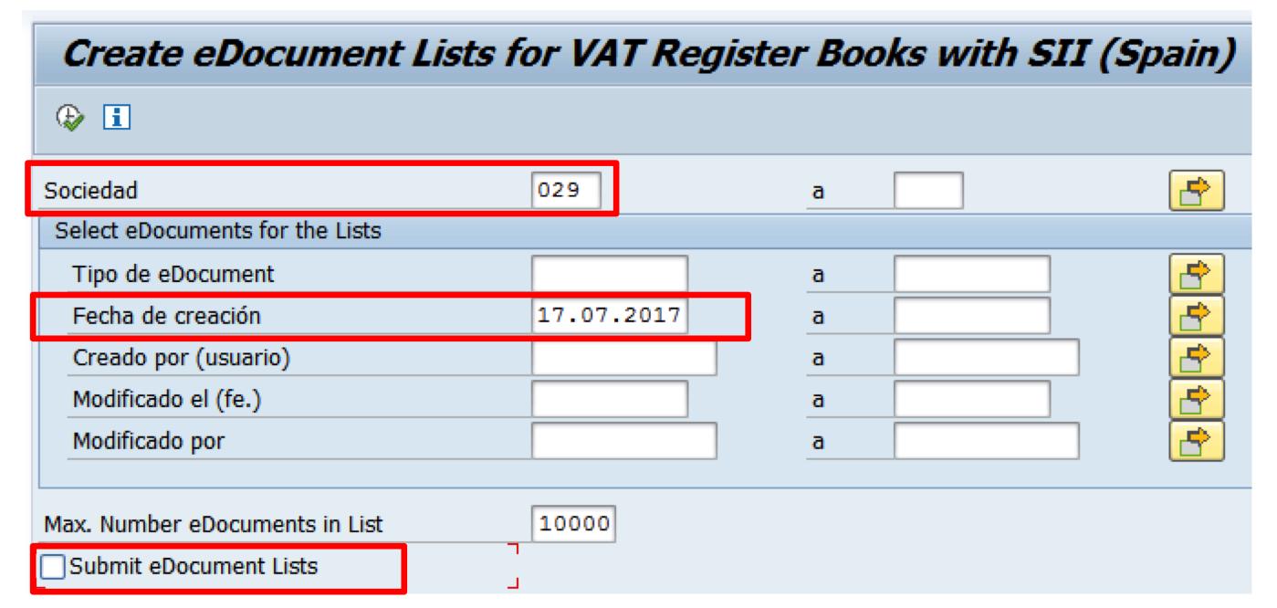 Envío de listas a la AEAT para la gestión del IVA con SAP FI