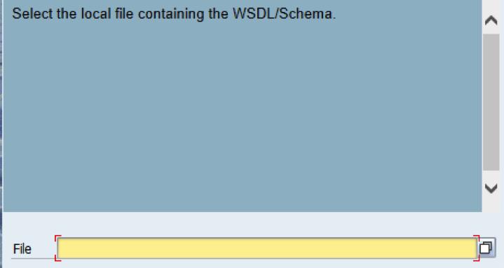 Importar WSDL a SAP (SOAP)