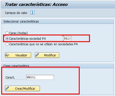 Parametrización cuenta de resultados en SAP - Creación de característica Cliente - 2