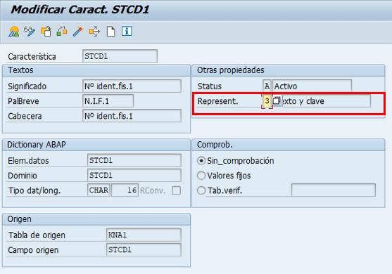 Parametrización cuenta de resultados en SAP - Identificación de campo - Texto y clave