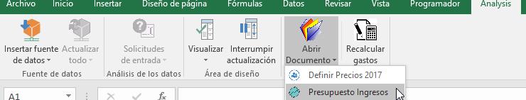 SAP BI AfO Personalizar la interfaz de usuario-Pestaña análisis customizada