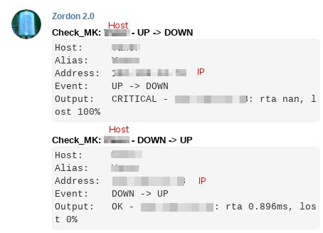 Bot en Telegram, Sistema de monitorización Check_MK