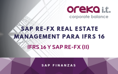 SAP RE-FX REAL ESTATE FLEXIBLE PARA IFRS 16 / IFRS 16 Y SAP RE-FX (II)