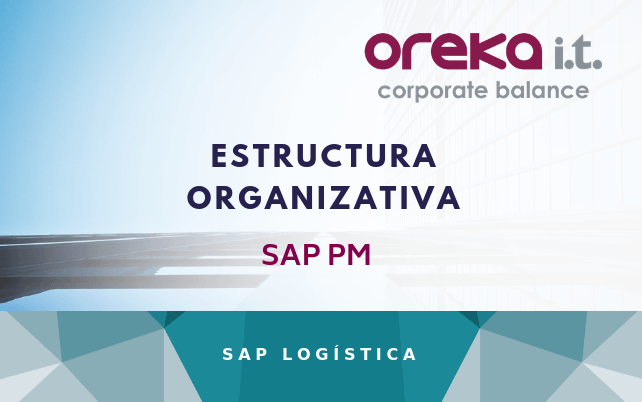 Estructura organizativa de SAP PM