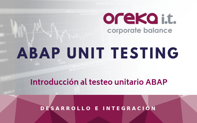 Introducción al testeo unitario ABAP – ABAP UNIT TESTING