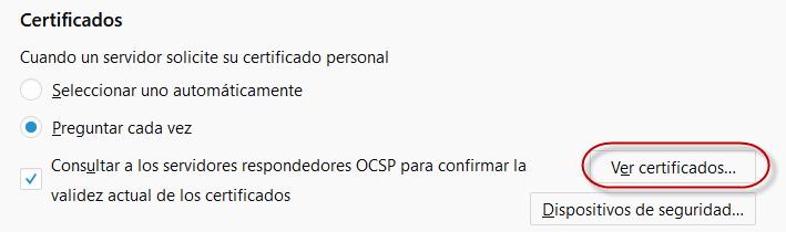 SAP Passport para acceder a la pagina de SAP mediante certificado - Importación de certificado 2
