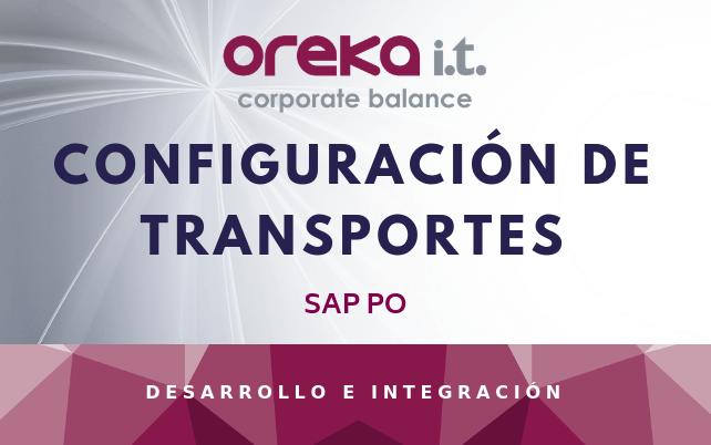 Configuración de transportes en SAP PO
