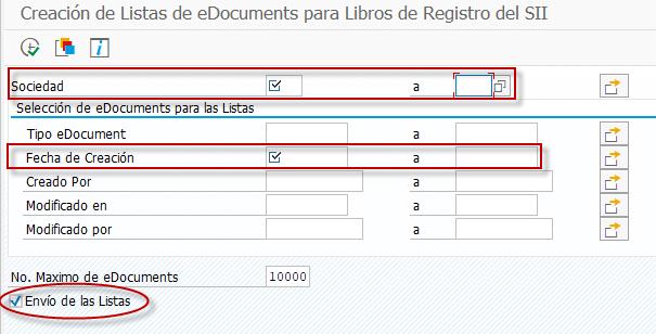 Libro de operaciones - rascendencia tributaria - cobros en metálico - Transacción ESSII_EDOCLIST