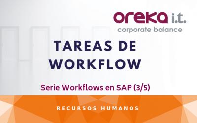 Tareas de Workflow – Serie Workflows en SAP (3/5)